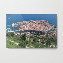 Over Dubrovnik, Croatia Metal Print