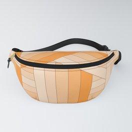 Orange Stripes Fanny Pack