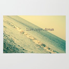 Live.Hope.Dream Rug