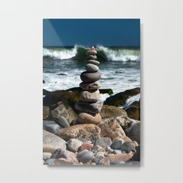 Parting the Waves Metal Print