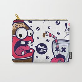Red Cola Addict Carry-All Pouch