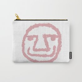 Minimalist Brush Stroke Face 009 Carry-All Pouch