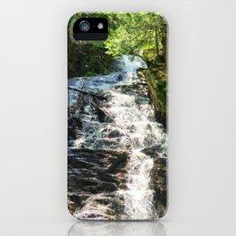 Thundering Brook Falls iPhone Case