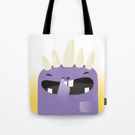 Violet, the monster Tote Bag