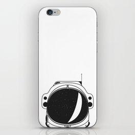 Cosmonaut helmet iPhone Skin