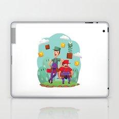 Mario and Luigi! Laptop & iPad Skin