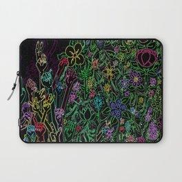 Hands & Flowers Laptop Sleeve
