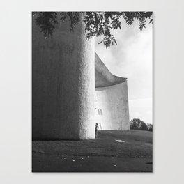 Ronchamp Chapel 002 Canvas Print