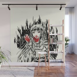 red-handed Wall Mural