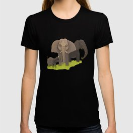 Elephant Picnic T-shirt