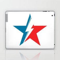 Bowie Star white Laptop & iPad Skin