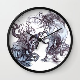The Witches Captive Wall Clock