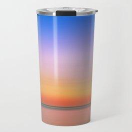 Rainbow Sunset Print Travel Mug