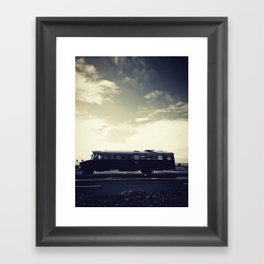 we bus Framed Art Print