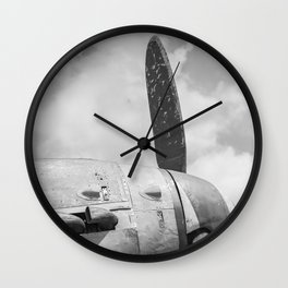 An old Messerschmitt Wall Clock