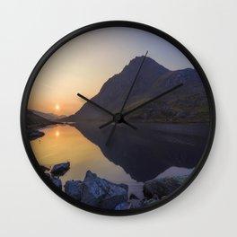 Tryfan at Dawn Wall Clock