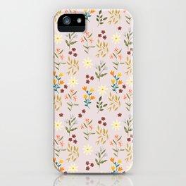 Summer Botanicals iPhone Case