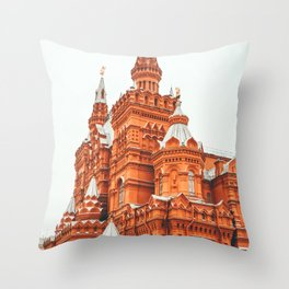 Red Square Moscow Throw Pillow