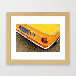 Orange Gum Framed Art Print