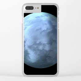 Globe18/For a round heart Clear iPhone Case
