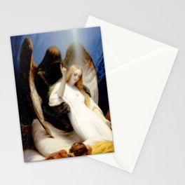 The Angel of Death Stationery Cards