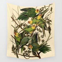 Carolina Parrot Wall Tapestry