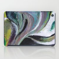 reassurance iPad Cases featuring Art print- swirl by Magdalena Hristova