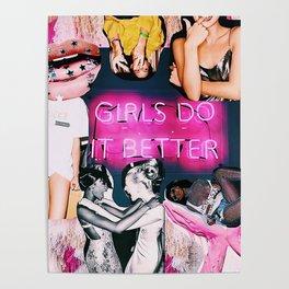 GIRLS DO IT BETTER Poster