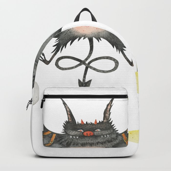 aa486a94042 Flying little cute devil Backpack by xenbuddism