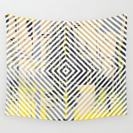 Sunday Morning - psychedelic graphic Wall Tapestry