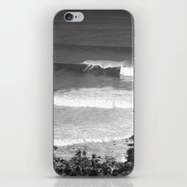 "Surfing ""GOD'S POV"" iPhone Skin"