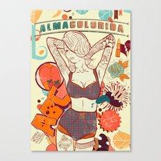 Alma Colorida Canvas Print