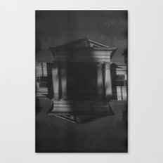 Mansions (35mm Double Exposure) Canvas Print