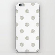 Grey Dots iPhone & iPod Skin