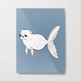 Pugfish Metal Print