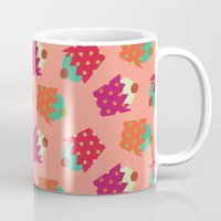 cupcakes Mugs featuring Cupcakes  by Ingrid Castile