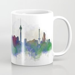 Berlin City Skyline HQ3 Coffee Mug