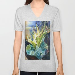 Staghorn Fern Unisex V-Neck