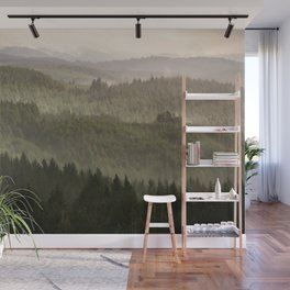 Pacific Coast Mountain Forest - 124/365 Wall Mural