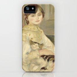 """Auguste Renoir """"Julie Manet"""" iPhone Case"""