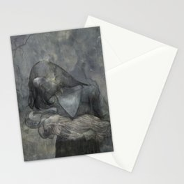 Mother Child Stone Stationery Cards