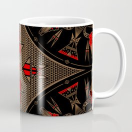 buffalo gathering Red Coffee Mug