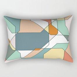Desert Polygons Rectangular Pillow