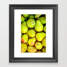 PEARS - for iphone Framed Art Print