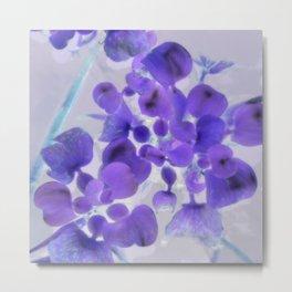 Flower | Flowers | Purple Water Plant Metal Print