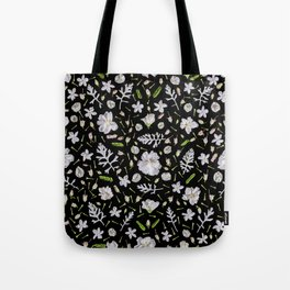 Leaves and flowers (10) Tote Bag