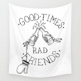 rad friends Wall Tapestry