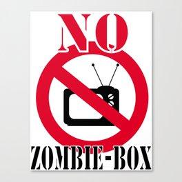 No zombie-box Canvas Print