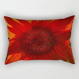 Sunflower Survivor Rectangular Pillow