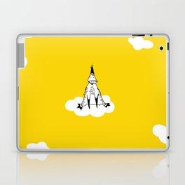 Flying Duck by McKenna Sanderson Laptop & iPad Skin